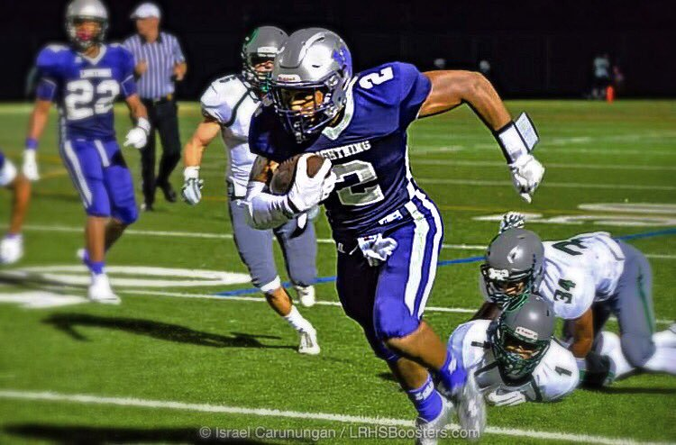 Senior Greg Benton races the ball downfield. Courtesy of Israel Carunungan