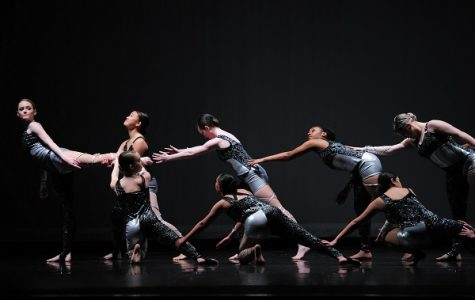 Long Reach Senior Dance Company performing