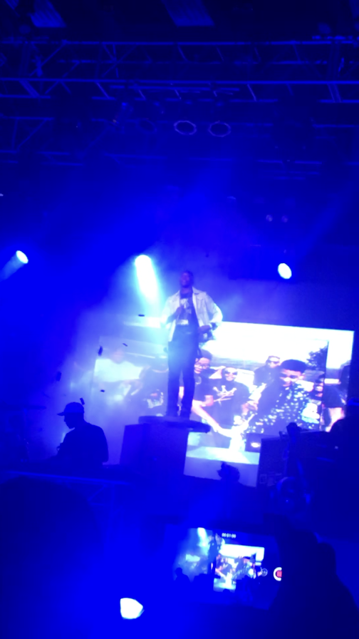 Lecrae performing at The Fillmore in Silver Spring. Photo courtesy of Jeremiah Ryans.