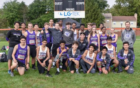 The Long Reach High School Varsity Men's and Women's Cross Country team. Photo courtesy of Israel Carunungan.