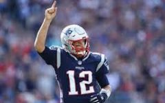 Tom Brady celebrates after a completion. Photo Courtesy of: Maddie Meyer/Getty Images