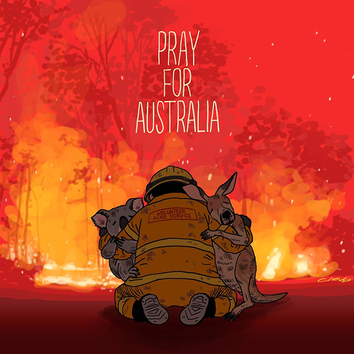 Let Us Pray For Australia