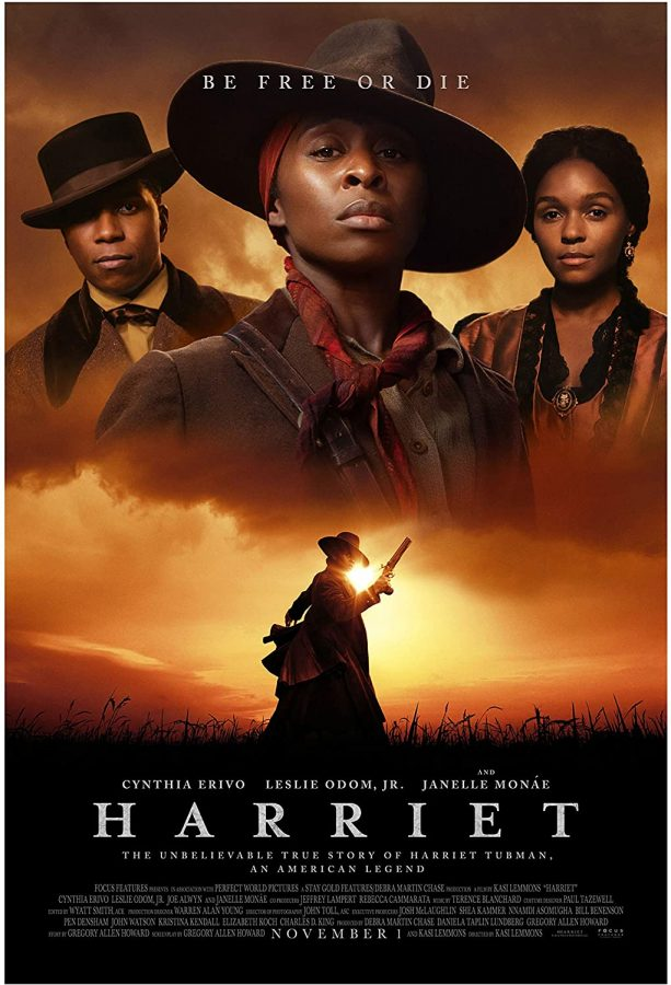 Harriet movie poster. Photo courtesy of https://www.amazon.com/Harriet-Poster-Glossy-Quality-Cynthia/dp/B081427L9Y.