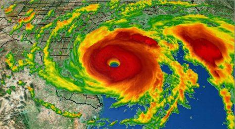 Infrared satellite imagery of Hurricane Harvey near landfall [Image]. (2020, April 2). Click2Houston.com.